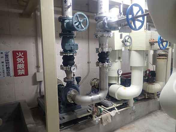 施工実績 配水ポンプ更新工事